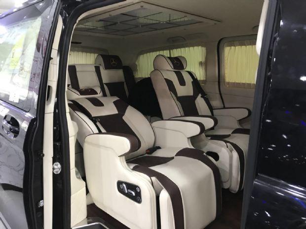 18款奔驰V250七座豪华改装哪里最靠谱天津港