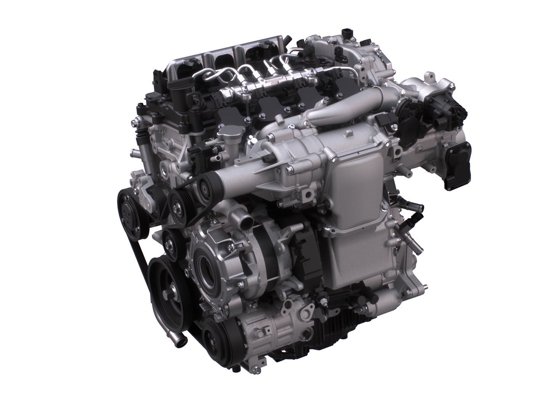 内燃机-拼技术 马自达 SKYACTIV X 汽油发动机也可以很环保