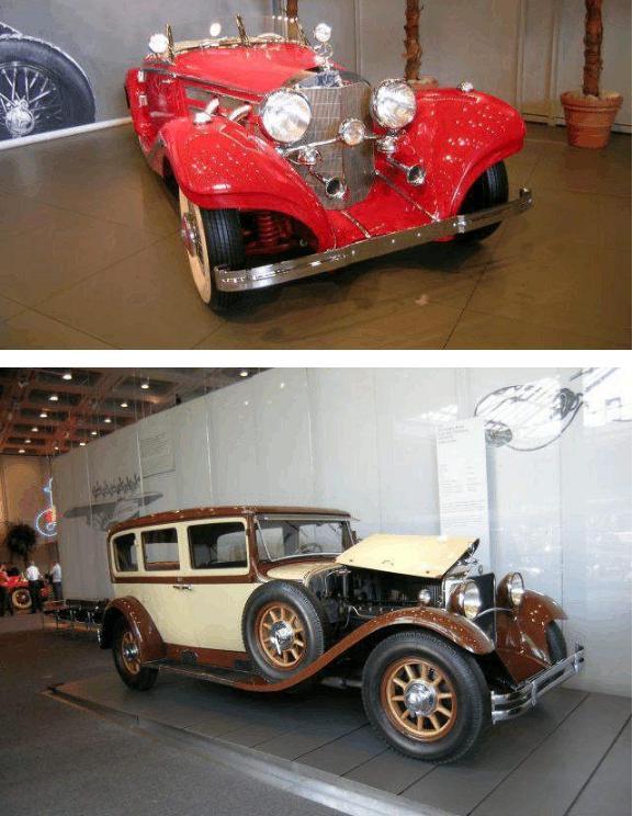 奔驰博物馆里的那些老爷车!