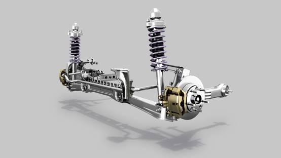 什么是汽车的悬挂系统?图片