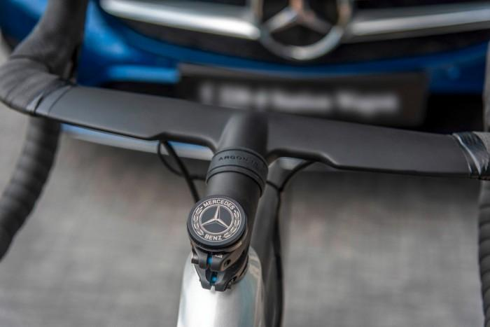 奔驰与加拿大自行车品牌ARGON 18联手打造耐力公路车-领骑网