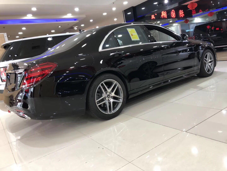 18款奔驰s450l加长版升级版为尊贵客户量身打造