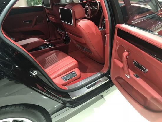 火热18款欧规宾利飞驰V8S 豪华四座293万-图9
