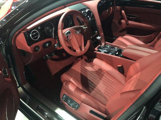 火热18款欧规宾利飞驰V8S 豪华四座293万-图6