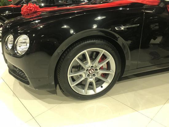 火热18款欧规宾利飞驰V8S 豪华四座293万-图4