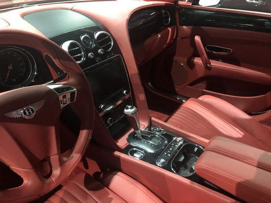 火热18款欧规宾利飞驰V8S 豪华四座293万-图7