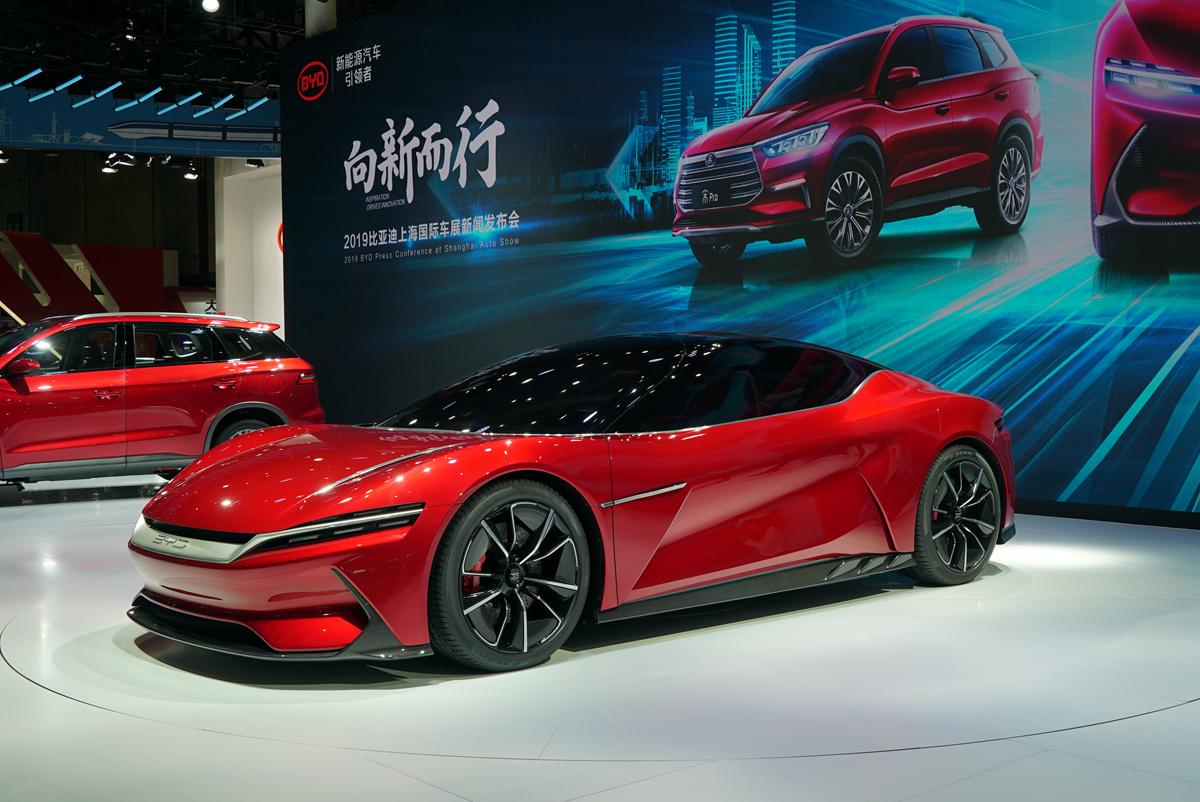 上海车展 | 比亚迪合集:e-SEED GT、宋Pro和e2