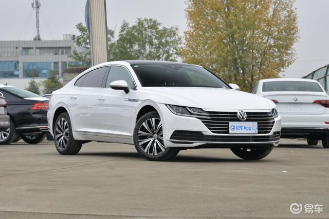 简洁大气的造型全新一汽-大众CC实车,外观帅气_易车网