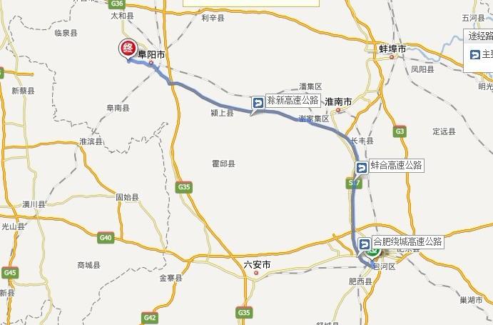 合肥691路公交地图