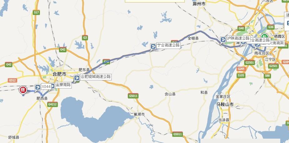 南京到紫蓬山国家森林公园自驾游路线?