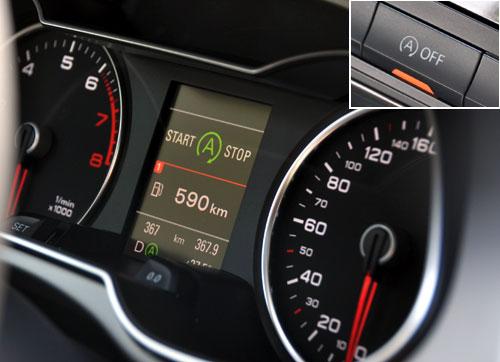 【汽车仪表盘指示灯图解出现绿色a什么意思】用车