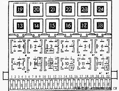 长安1020空调接线图