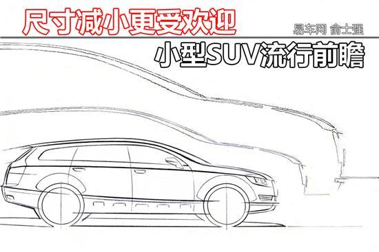 SUV车型趋于小型化 或将全球范围内流行