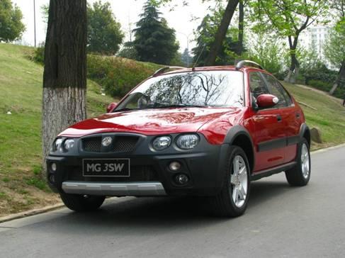 风采依旧, MG3SW等CROSS跨界小车推荐