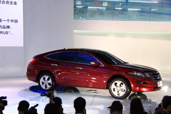 2010北京车展 广本跨界车歌诗图中国首发