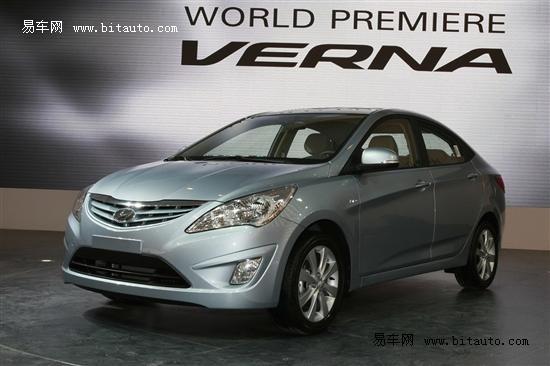 现代6款有望引进新车前瞻 VERNA将打头阵