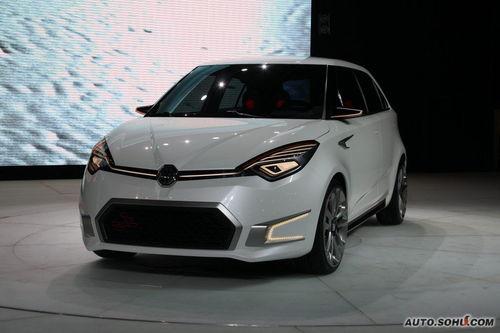 MG ZERO量产版MG3新车简介 10月将上市