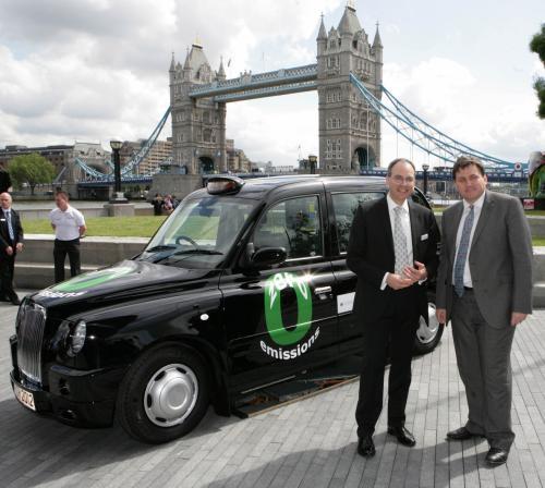 氢电混合动力出租车或为2012奥运会服务