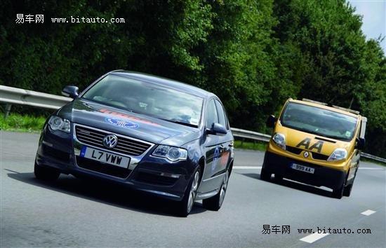 大众Passat蓝驱一箱油行驶里程打破纪录