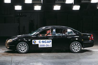 C-NCAP碰撞 江淮宾悦以32.2分获三星
