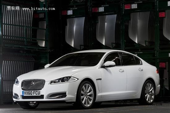 全新2012款捷豹XF亮相 配备8速变速器