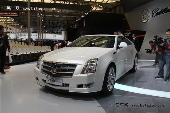 CTS Coupe展车5月底到店 可预订订金10万