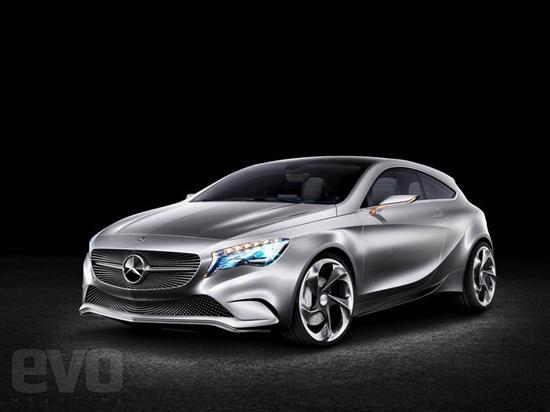 奔驰A-Class概念车将于上海车展首发