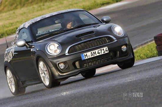MINI Cooper Coupe细节发布 法兰克福首发