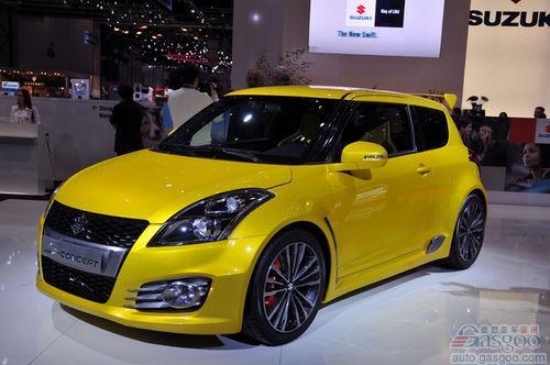 铃木新款运动版雨燕预计于2012年初上市