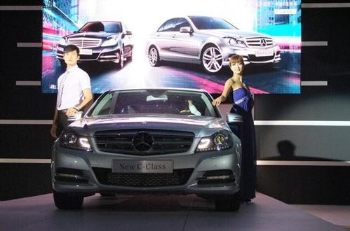 超越完美 全新一代奔驰C级太原首发上市