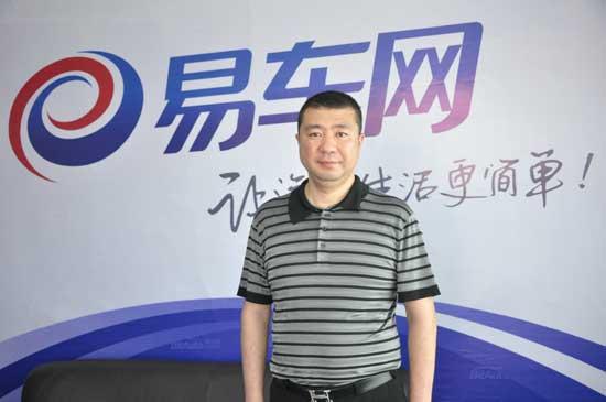 长春车展 易车网专访瑞祥4S店董事长刘钢