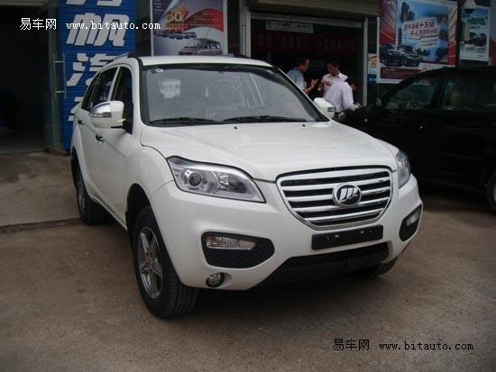 力帆SUV X60江门到店 预订周期一周