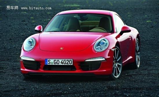 2011法兰克福车展 全新保时捷911官图
