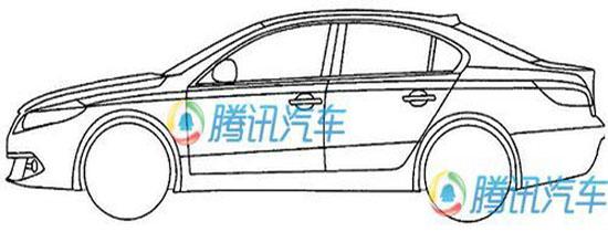 代号b25-s1 奇瑞全新车型设计图大曝光