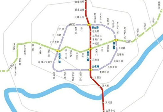 沈阳地铁一号线_【图文】沈阳地铁一号线车站装修本月底全部竣