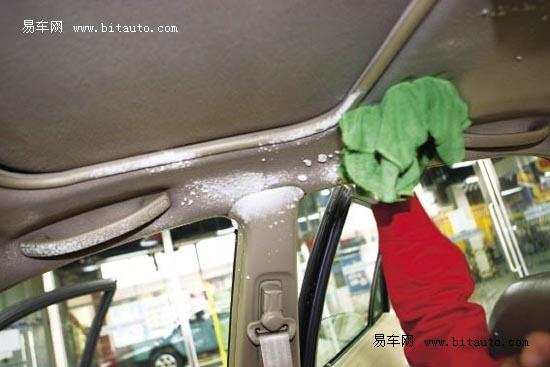 大扫除多图详解老车内饰清洗过程