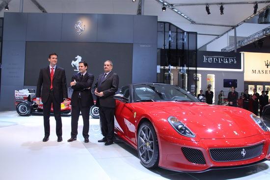 法拉利599gto全球首发 458italia亚太首发高清图片
