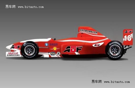 【图文】吉利亚洲方程式标准赛车将亮相岛城车展