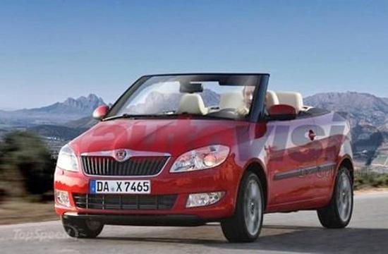 ...斯柯达将会推出Fabia敞篷版车型的消息再次有了新进展.不过,...
