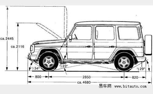 g500车身及底盘结构