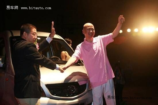 郭冬临代言汽车品牌 相中海马福仕达高清图片