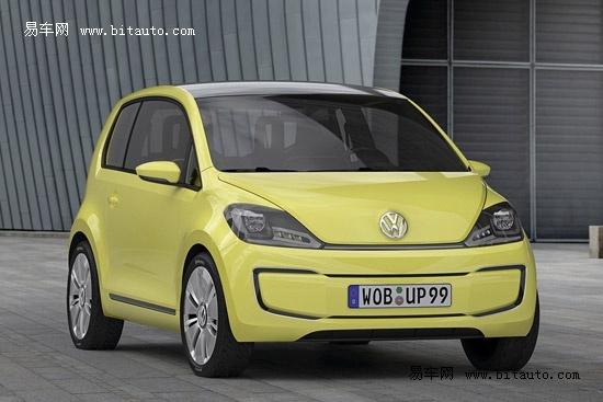 【图文】大众首款电动汽车e-up概念车申报图曝光
