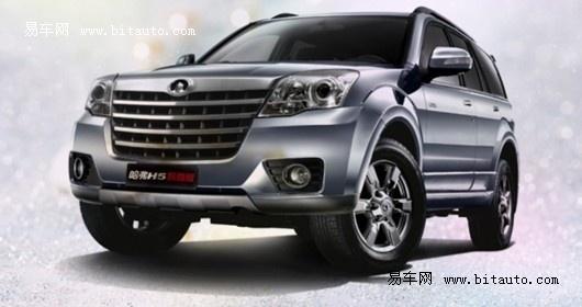 长城H5防滑差速版 最安全SUV指导冬季行车高清图片