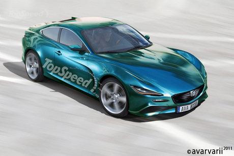 马自达rx 9最大功率达300匹 2012年首发 高清图片