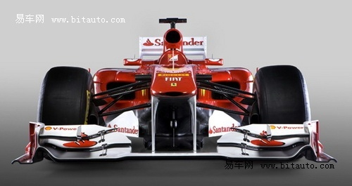 法拉利2011款f1赛车发布高清图片