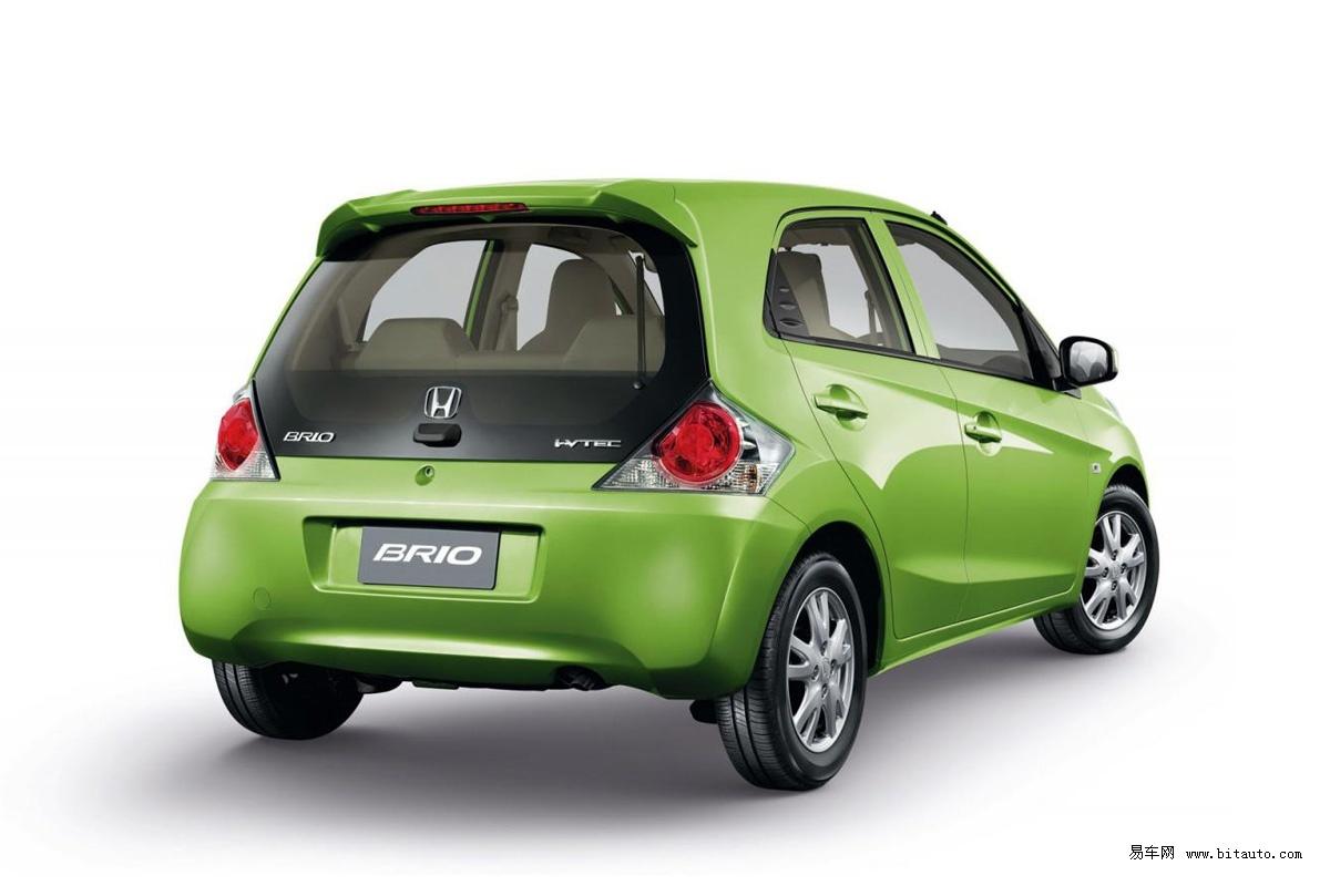 本田全新微型车brio将推出 5月下旬上市