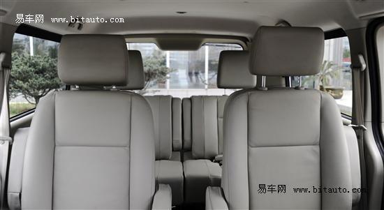 上海车展上市 江淮瑞风和畅完整内饰曝光 高清图片