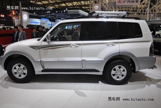 2011年上海车展 三菱汽车帕杰罗亮相高清图片