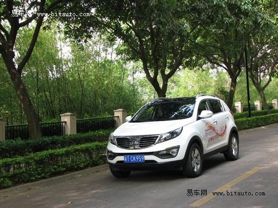 易车体验东风悦达起亚人气SUV 智跑高清图片