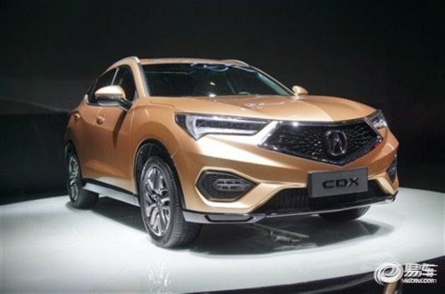 讴歌首款国产SUV车型CDX亮相深港澳车展